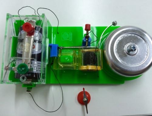 【ロボット教室日誌】那覇校 AD-01 Challenge コイルと電池で電磁石をつくろう