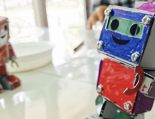 【ロボット教室日誌】那覇校 ベーシックコース−7月 「金属加工でロボットをつくろう!」