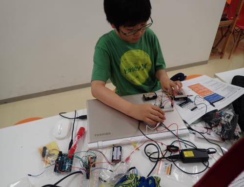 【ロボット教室日誌】飯田橋校Engineerコース 無線通信をしよう!