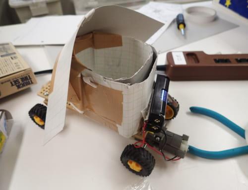 【ロボット教室日誌】飯田橋校Advancedコース「変速ギヤでバギーを作ろう!」