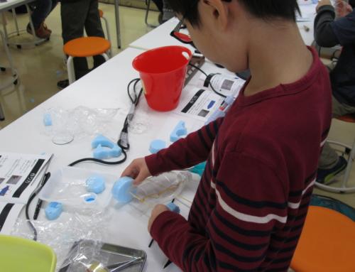 【ロボット教室日誌】飯田橋校Basicコース「ゴムをつかっていろいろ動くそうちを作ろう!」