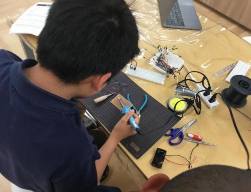 【ロボット教室日誌】大阪校Smartコース「ブレッドボードで電子回路を学ぼう!」