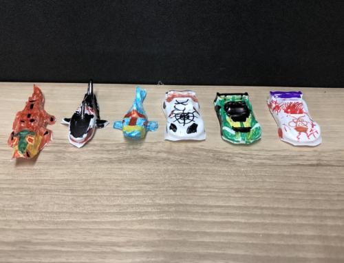【ロボット教室日誌】大阪校Processing&Materialコース「バキュームフォーム」