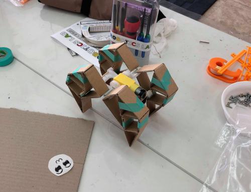 【ロボット教室日誌】那覇校Mechatronicsコース「リンク機構・ヤンセンビースト」