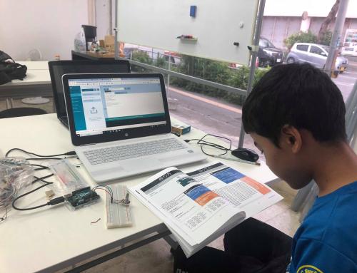 【ロボット教室日誌】那覇校Roboticsコース「マイコンボード・サーボモーター」_チャレンジタイム